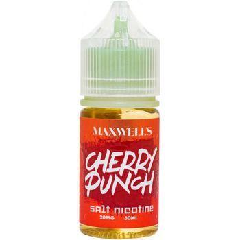 Жидкость Maxwells Salt CHERRY PUNCH 30мл