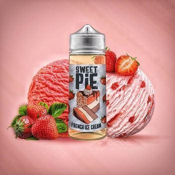 Жидкость SWEET PIE FRENCH ICE CREAM 120мл