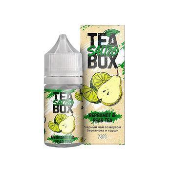 Жидкость TEA BOX SALT Bergamot & pear 30мл