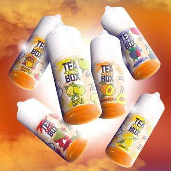 Жидкость TEA BOX  Strawberry & Cranberry 120мл