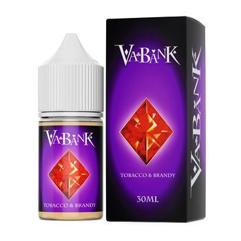 Жидкость VA BANK Tobacco & Brandy 30мл