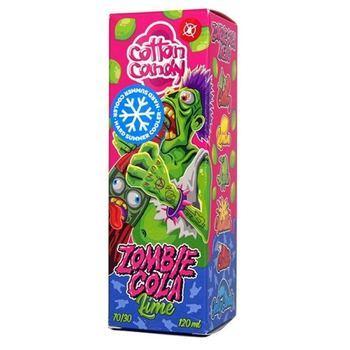 Жидкость ZOMBIE COLA EXTRA Lime (+бустер) 120мл